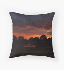Before the Storm - a Night to Remmember Throw Pillow