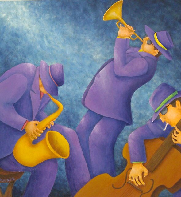 Cool Jazz Trio by Allegretto