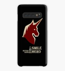 A Smile Better Suits A Hero Case/Skin for Samsung Galaxy