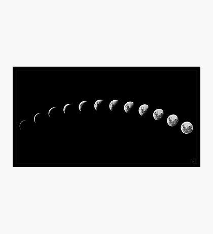 Lunar Cycle Photographic Print