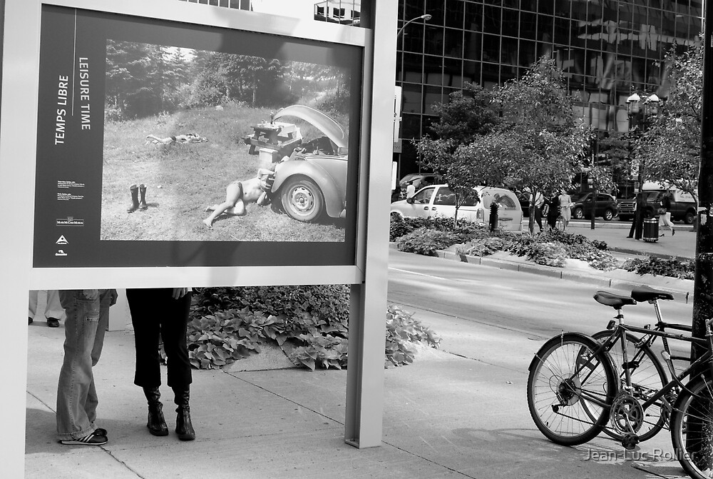 Montréal - Boots story by Jean-Luc Rollier