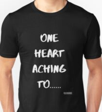 One Heart Aching To... Bel Woods Slim Fit T-Shirt