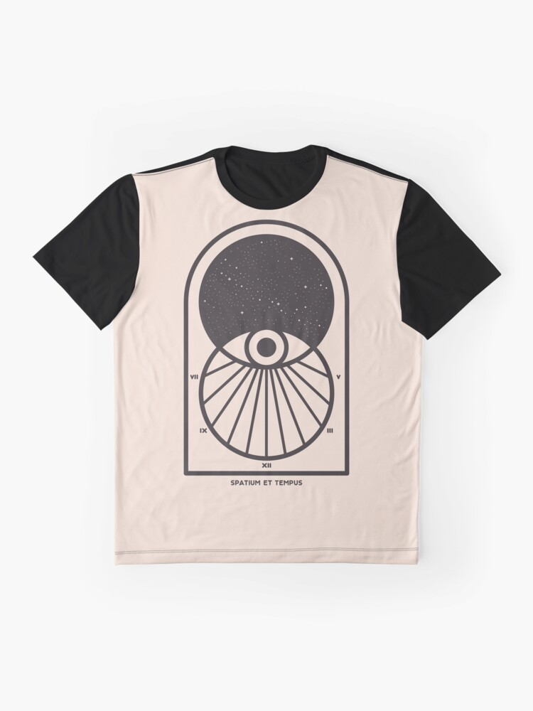Alternate view of Space and Time Graphic T-Shirt