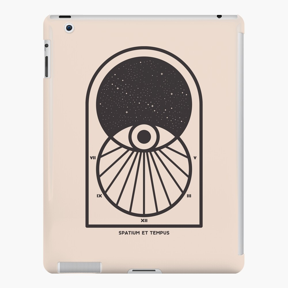 Space and Time iPad Case & Skin