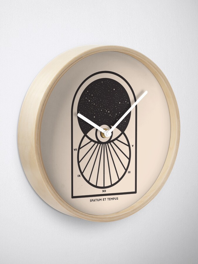 Alternate view of Space and Time Clock