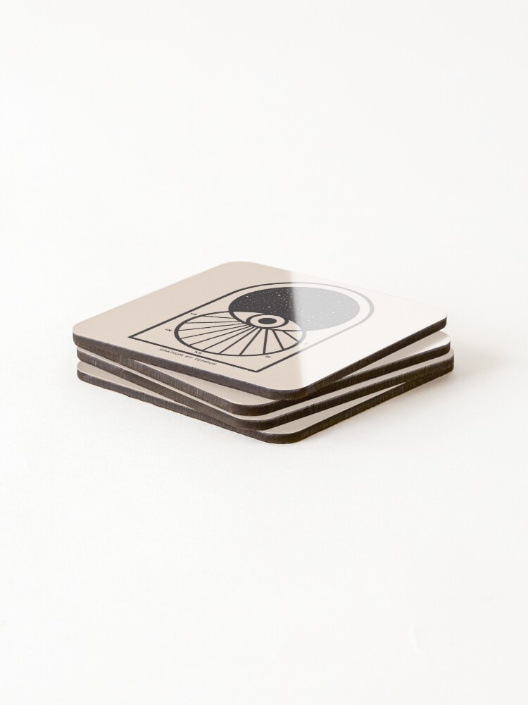Alternate view of Space and Time Coasters (Set of 4)