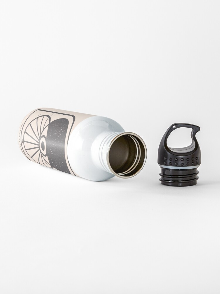 Alternate view of Space and Time Water Bottle