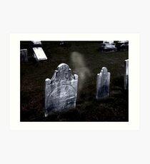 Sleepy Hollow Cemetery, NY Art Print