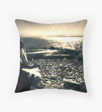 Strait of Juan de Fuca Throw Pillow