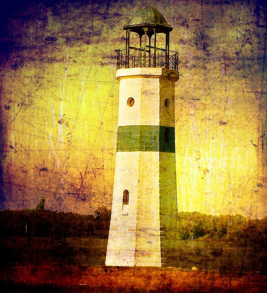 Lighthouse on the River by Nadya Johnson