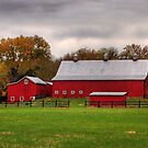 Red Barn by Jane Best