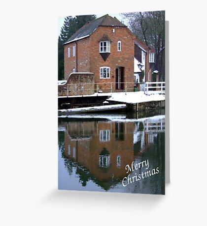 Reflections - Christmas Card Greeting Card