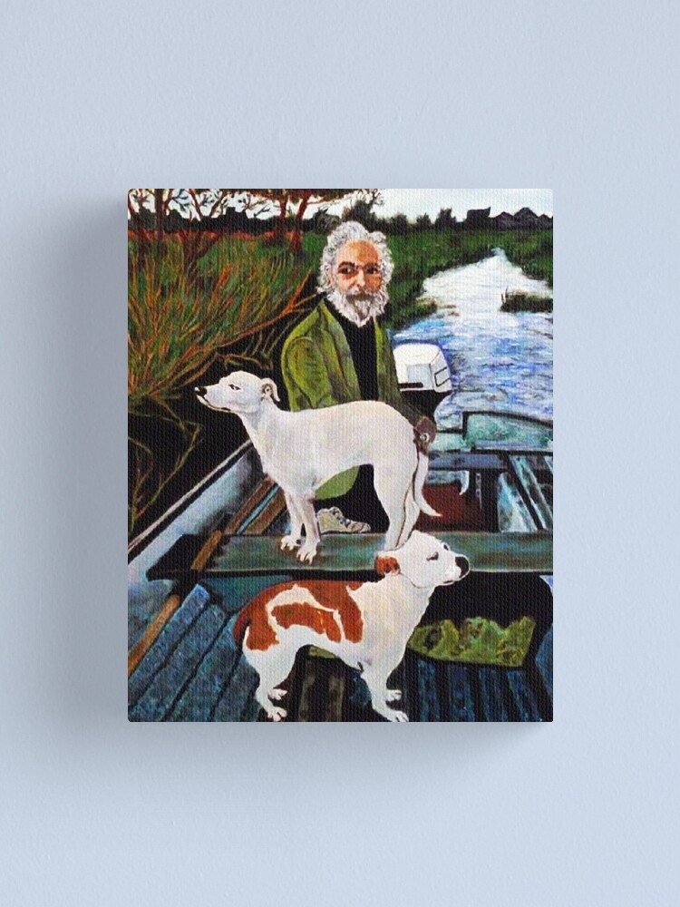 Alternate view of Goodfellas Painting Dogs Canvas Print
