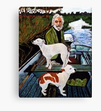 Goodfellas Painting Dogs Canvas Print