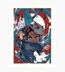 AnimeDemonSlayer Art Print