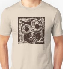 Owl Woodcut T-Shirt