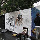 Art Around the Park. Tompkins Square Park. Sept 11 by John Sunderland