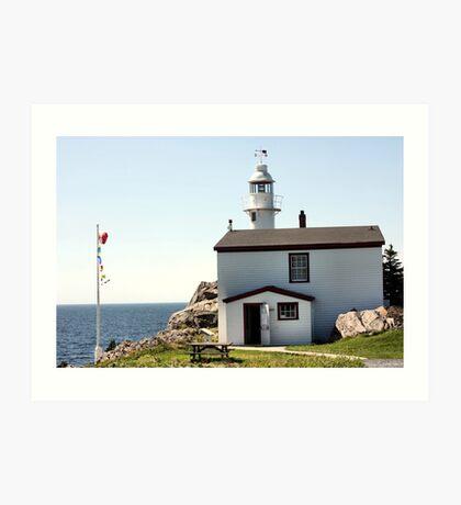 Lobster Cove Head Lighthouse Rocky Harbor Art Print