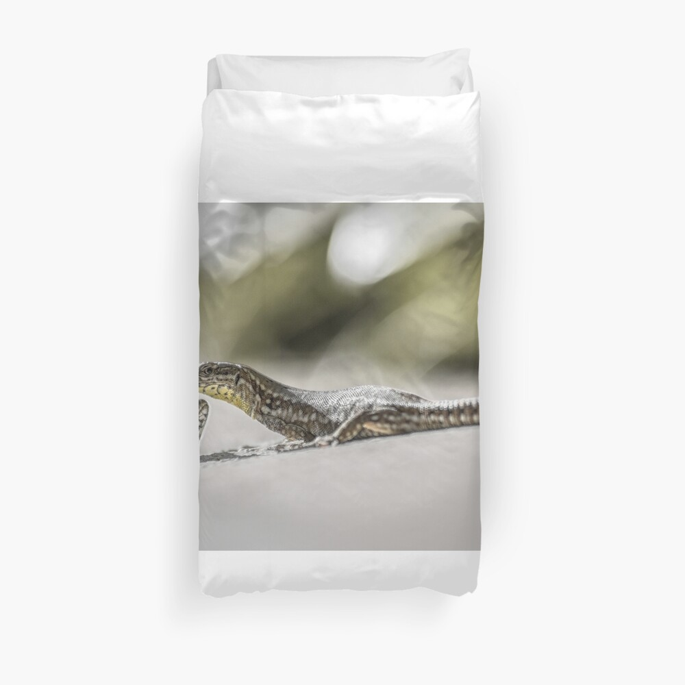 The charming lizards Duvet Cover