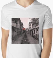 Rail Track, Hanoi in Vietnam. T-Shirt