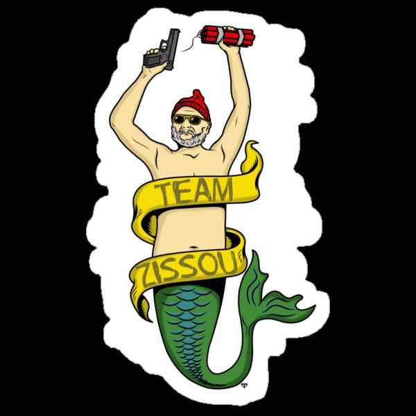 Team Zissou by Tom  Ledin