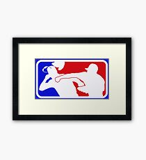 The Punch Framed Print