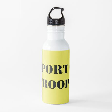 Support Our Troops - July 4th - U.S. Military Water Bottle
