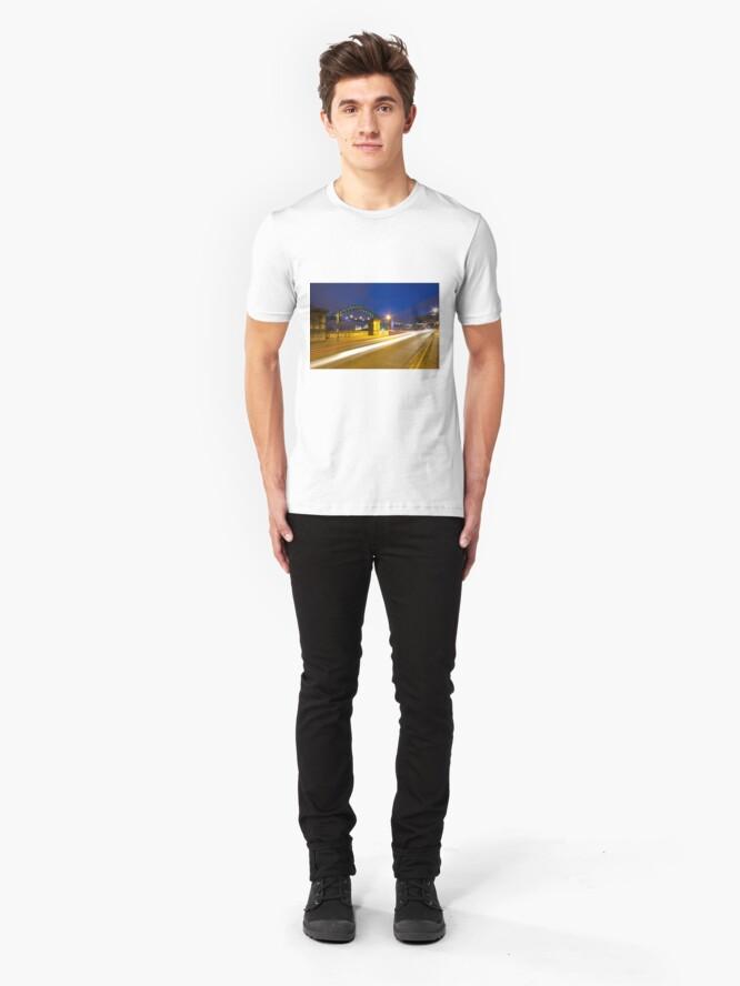 Alternate view of Swing Bridge Headlights Slim Fit T-Shirt