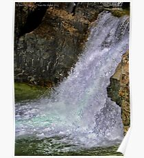 Kootenai Falls Poster