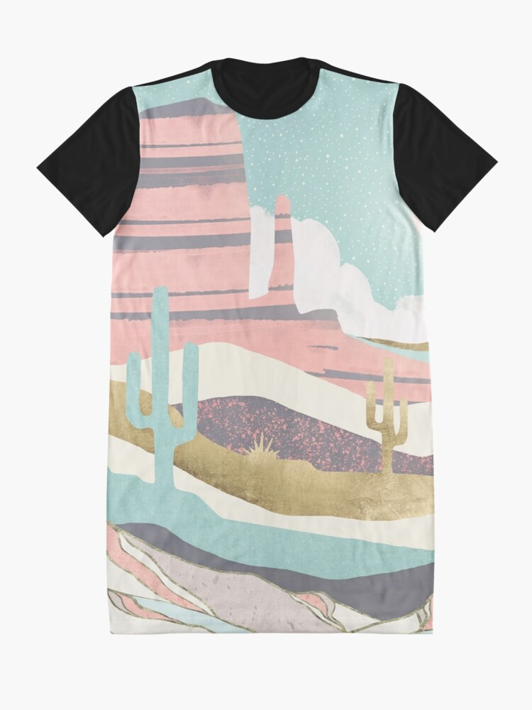 Alternate view of Desert Sun Graphic T-Shirt Dress