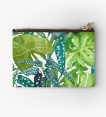 Tropical  Leaves Zipper Pouch