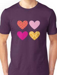HEARTS QUAD 5 T-Shirt