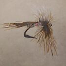 Fly  fishing hook by cdcantrell