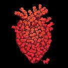 I Love Cat Heart by tobiasfonseca
