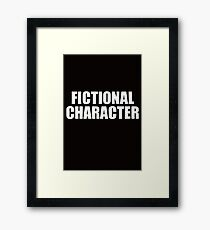 Fictional Character  Framed Print