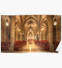 Bethlehem Chapel Washington National Cathedral Poster
