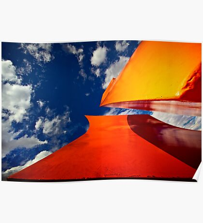 Orange Reach Poster