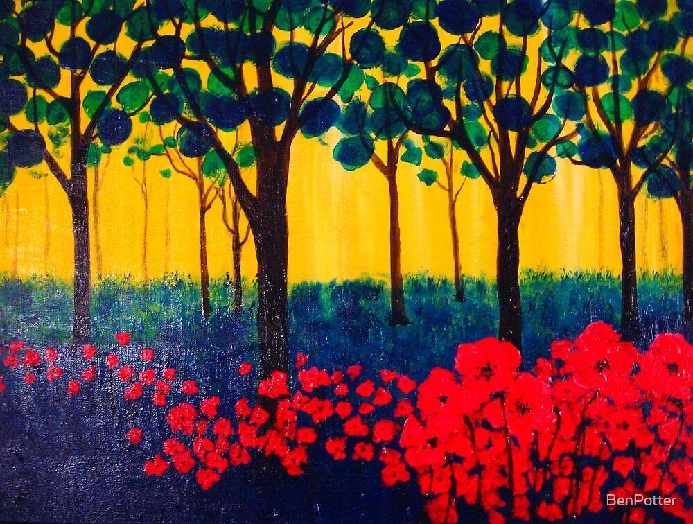 The Poppy Grove by BenPotter