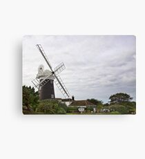 Stow Mill Canvas Print