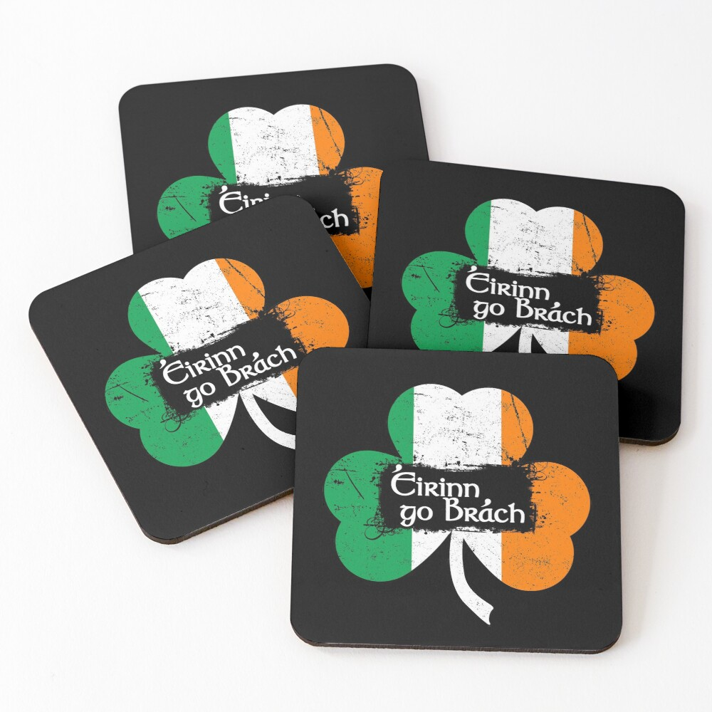 Eirinn Go Brach - Ireland Forever Coasters (Set of 4)