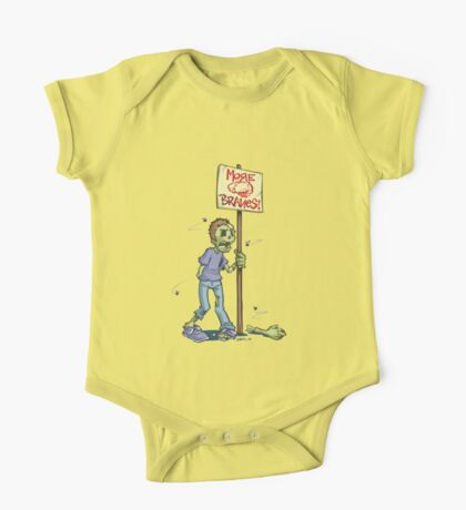 When do we want it? Brains. Kids Clothes