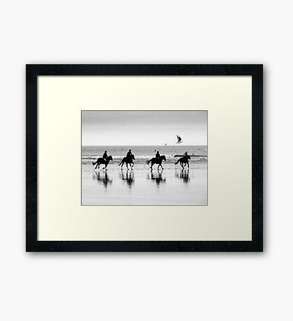 Saltburn Canter Framed Print