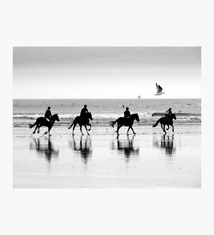 Saltburn Canter Photographic Print