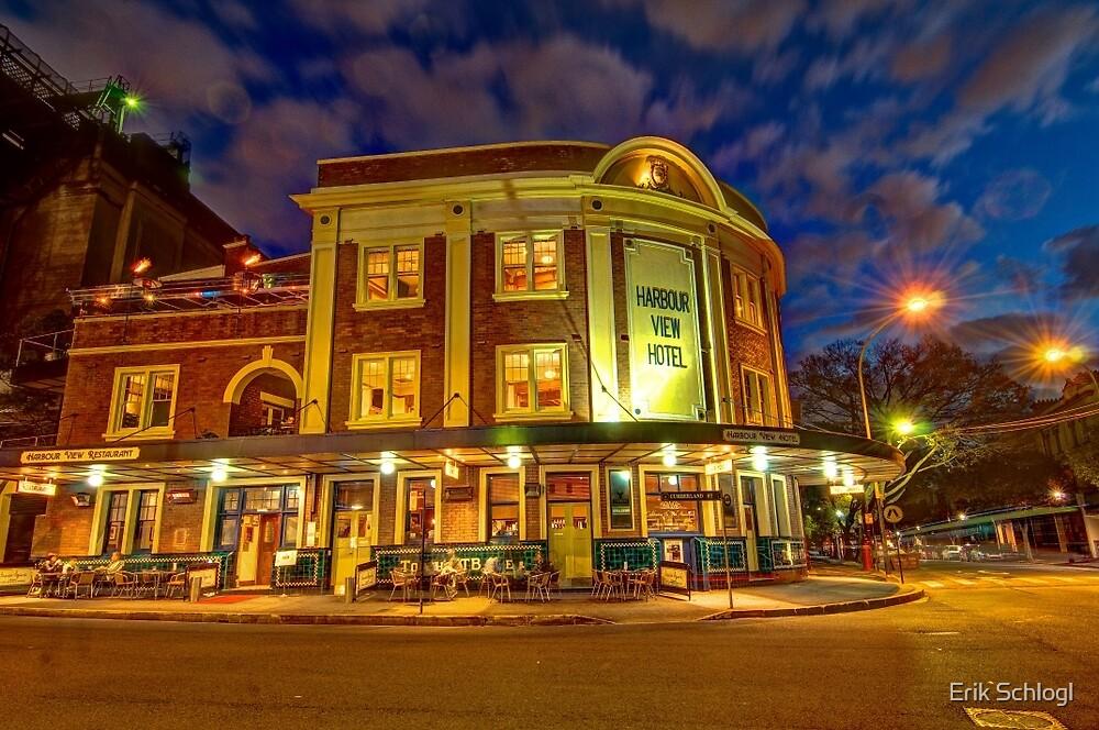 Harbour View Hotel, Sydney by Erik Schlogl