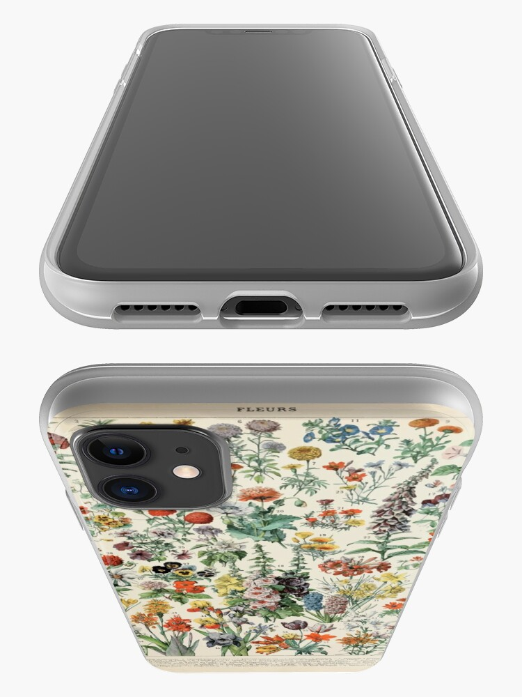 Alternate view of Adolphe Millot fleurs A iPhone Case & Cover