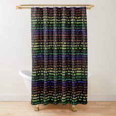 New Pronouns by Hypersphere Shower Curtain