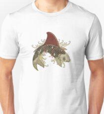 koi shark fin 03 T-Shirt