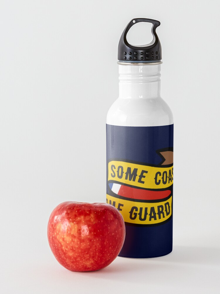 Alternate view of Some Coast, Some Guard Water Bottle