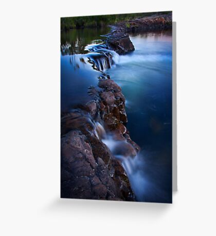 Sweetwater Cascading Greeting Card