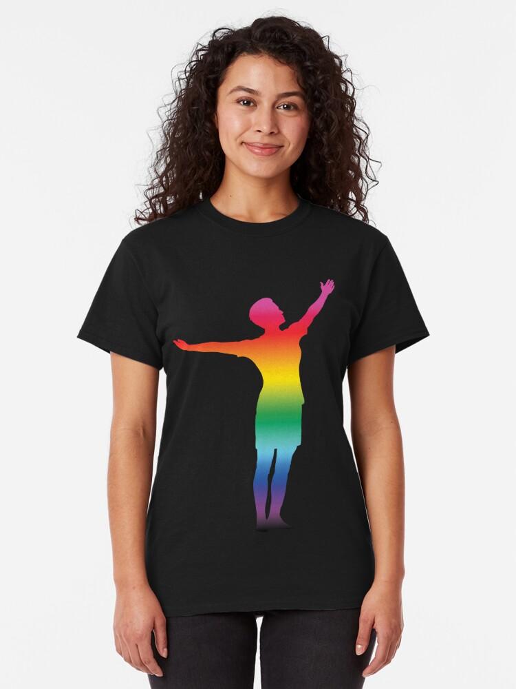 Alternative Ansicht von Megan Rapinoe - STOLZ Classic T-Shirt